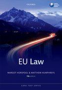 Horspool & Humphreys: European Union Law 7e
