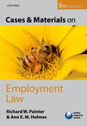 Painter & Holmes: Cases and Materials on Employment Law 9e