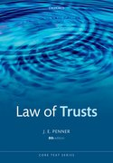 Cover for The Law of Trusts