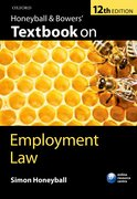 Honeyball: Honeyball & Bowers' Textbook on Employment Law 12e