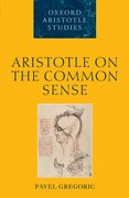 Cover for Aristotle on the Common Sense
