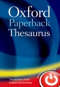 Cover for Oxford Paperback Thesaurus