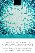Cover for Constructing Identity in and around Organizations