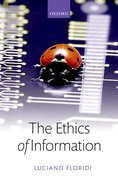 Cover for The Ethics of Information