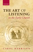 Cover for The Art of Listening in the Early Church
