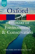 Cover for A Dictionary of Environment and Conservation