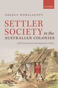 Cover for Settler Society in the Australian Colonies