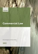 Cover for Commercial Law 2012