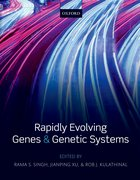 Cover for Rapidly Evolving Genes and Genetic Systems