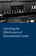 Cover for Assessing the Effectiveness of International Courts