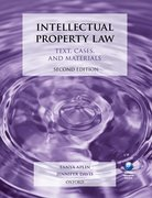Cover for Intellectual Property Law: Text, Cases, and Materials