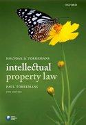 Torremans: Holyoak & Torremans' Intellectual Property Law 7e