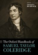Cover for The Oxford Handbook of Samuel Taylor Coleridge