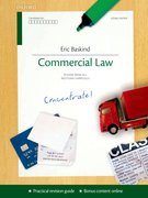 Commercial Law Concentrate Law Revision and Study Guide