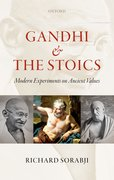 Cover for Gandhi and the Stoics