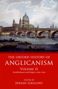 Cover for The Oxford History of Anglicanism, Volume II