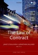 O'Sullivan & Hilliard: The Law of Contract 5e