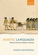 Semitic Languages Features, Structures, Relations, Processes