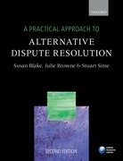 Cover for A Practical Approach to Alternative Dispute Resolution