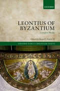Cover for Leontius of Byzantium - 9780199645237
