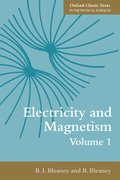 Cover for Electricity and Magnetism, Volume 1