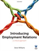 Williams: Introducing Employment Relations 3e