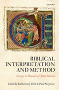 Biblical Interpretation and Method:  Essays in honour of Professor John Barton