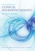 Cover for The Handbook of Clinical Neuropsychology