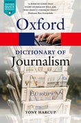 Cover for A Dictionary of Journalism