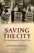 Cover for Saving the City