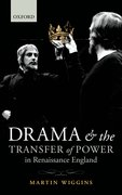 Cover for Drama and the Transfer of Power in Renaissance England