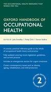 Cover for Oxford Handbook of Occupational Health