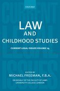 Cover for Law and Childhood Studies