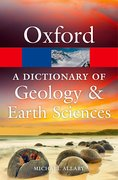 Cover for A Dictionary of Geology and Earth Sciences