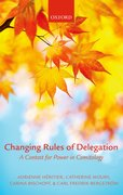 Cover for Changing Rules of Delegation