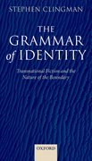 Cover for The Grammar of Identity