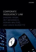 Cover for Corporate Insolvency Law