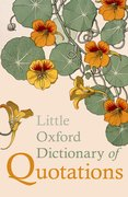 Cover for Little Oxford Dictionary of Quotations