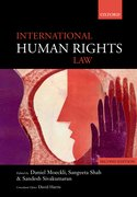 Cover for International Human Rights Law