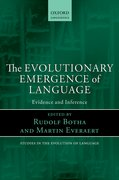 Cover for The Evolutionary Emergence of Language