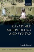 Cover for Kayardild Morphology and Syntax
