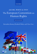 Cover for Jacobs, White & Ovey: The European Convention on Human Rights