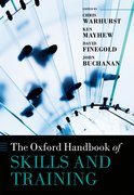 Cover for The Oxford Handbook of Skills and Training