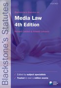 Caddell & Johnson: Media Law 4e