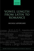 Cover for Vowel Length From Latin to Romance
