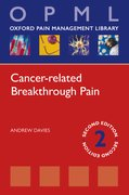 Cover for Cancer-related Breakthrough Pain