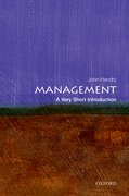 Cover for Management: A Very Short Introduction