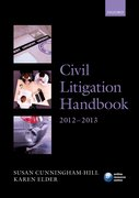 Civil Litigation Handbook 2012-2013