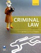 de Than & Heaton: Criminal Law 4e