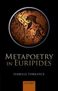 Cover for Metapoetry in Euripides
